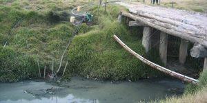 Aguas contaminadas