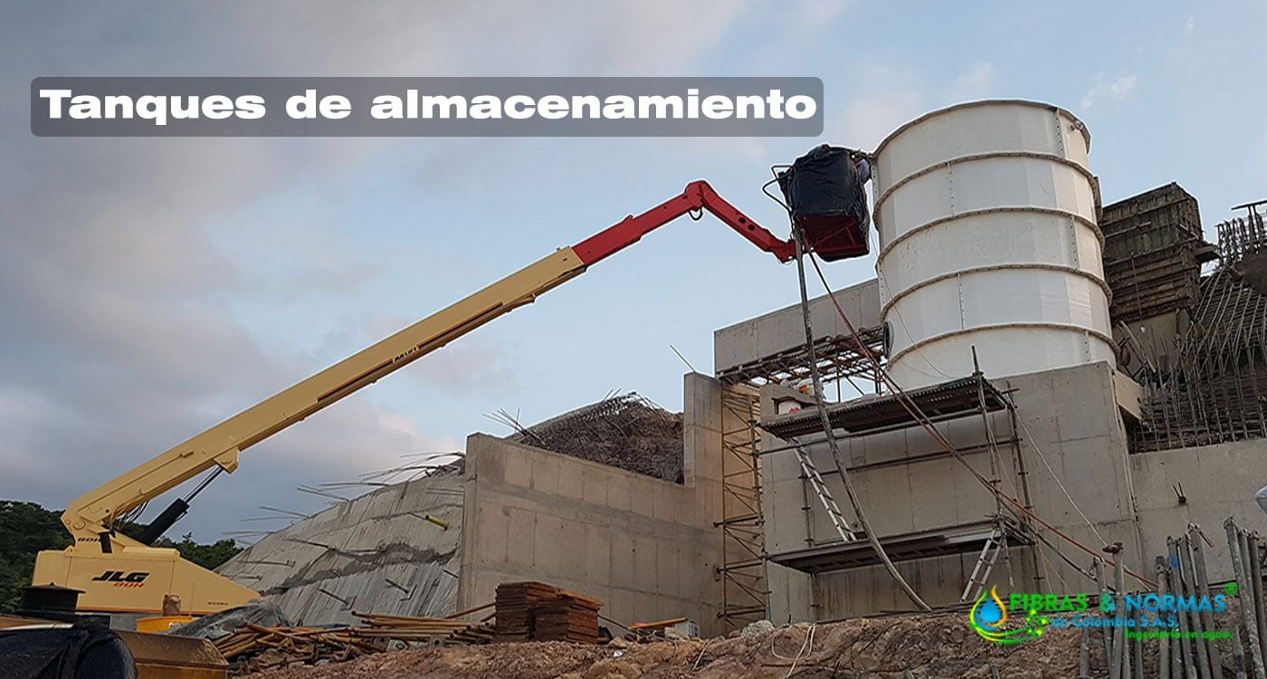 Tanque de almacenamiento de agua modulares