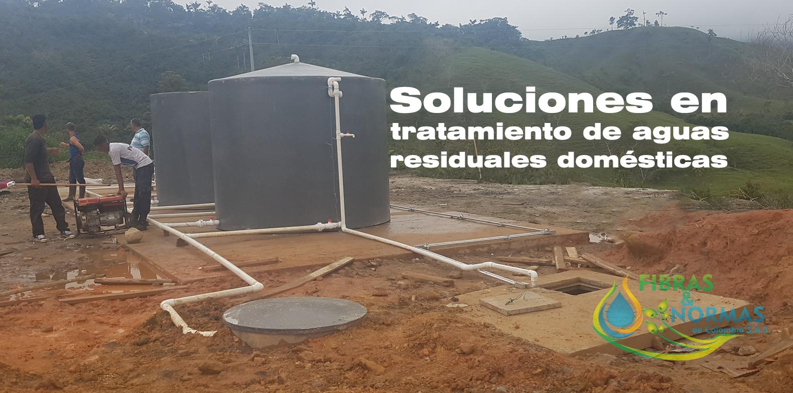 soluciones en tratamiento de aguas residuales domesticas